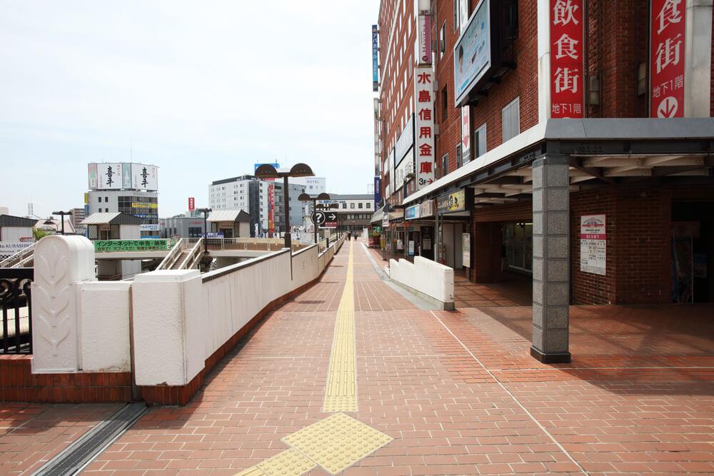 倉敷駅前飲食街